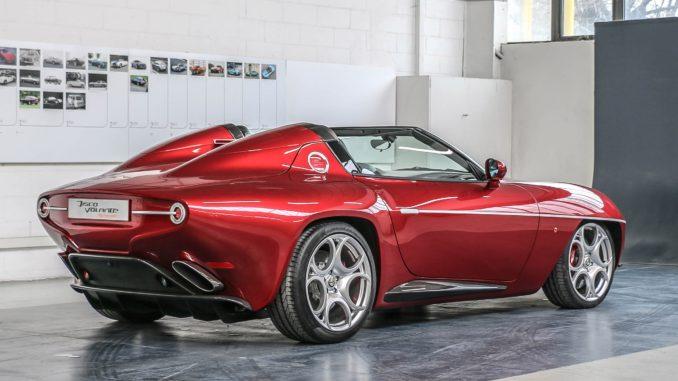 Alfa Romeo Disco Volante Spyder Touring 2018