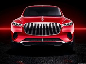 Mercedes Maybach Vision Ultimate Luxury 2018