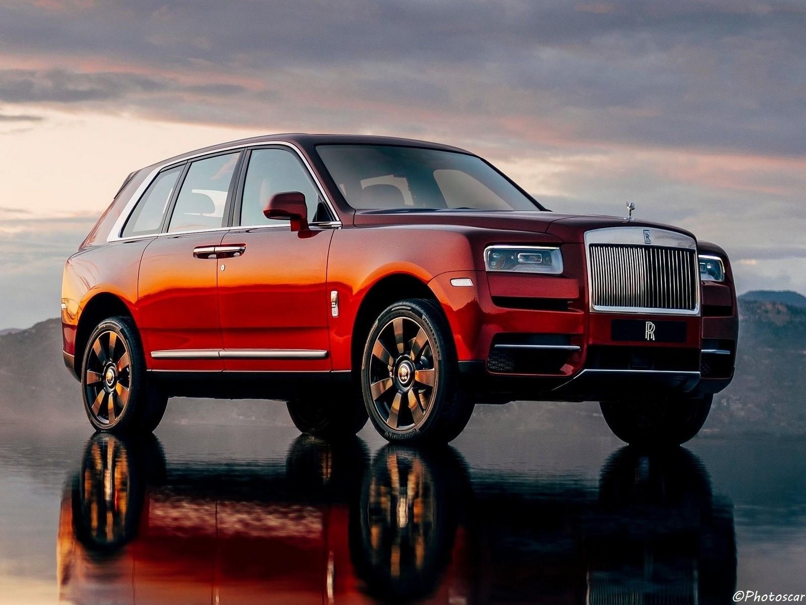 Rolls Royce Cullinan 2019: véhicule «haut de gamme»