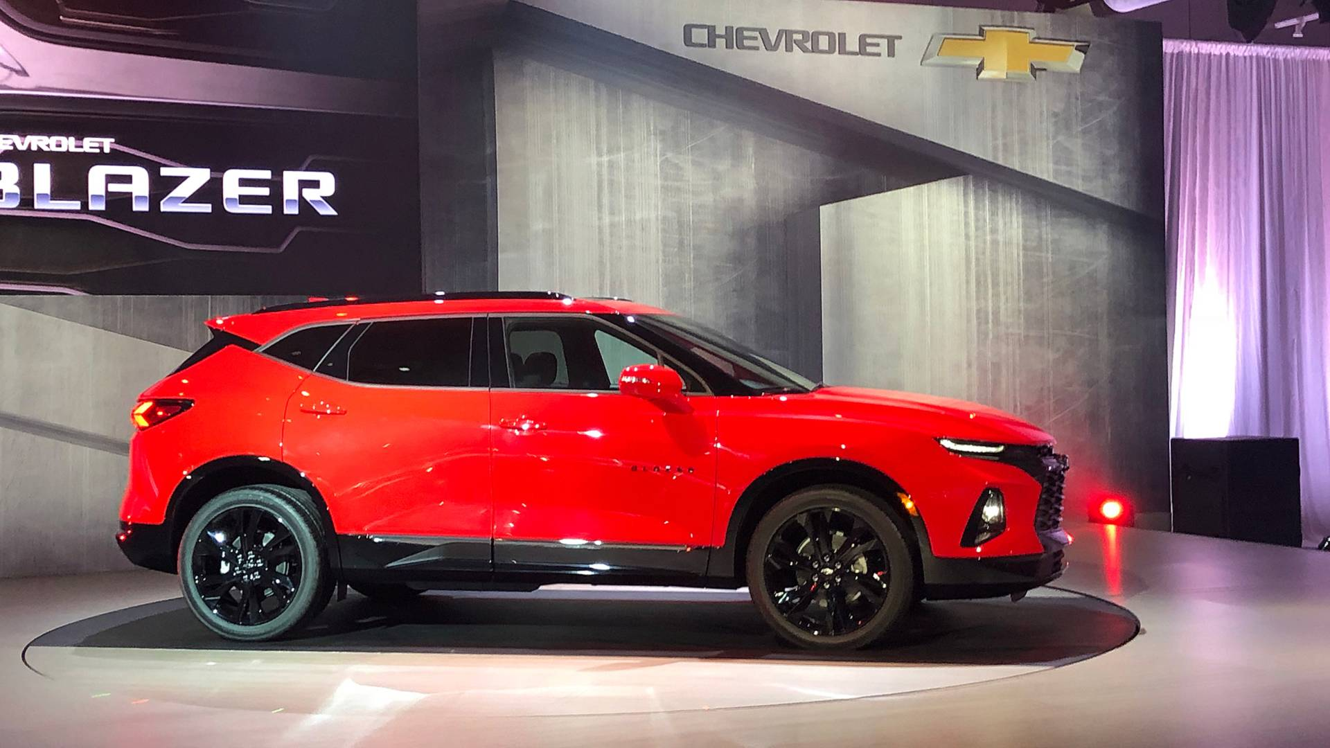 Chevrolet Blazer 2019 - Un SUV de taille moyenne ...