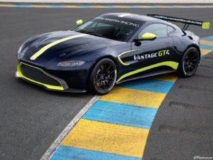 Aston Martin Vantage GT4 2019