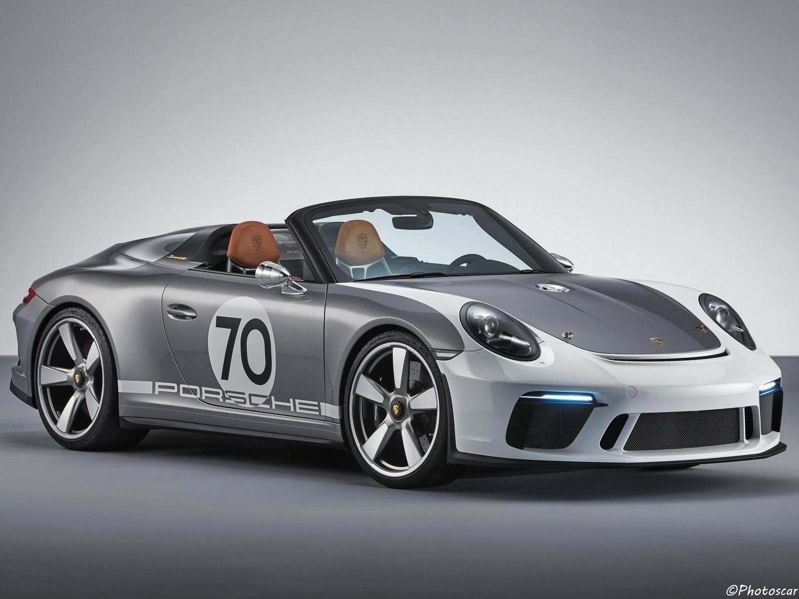 Porsche 911 Speedster Concept 2018