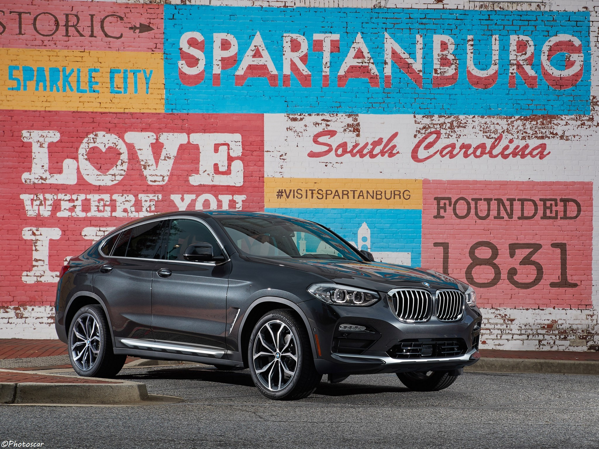BMW X4 xDrive30i G02 USA 2018