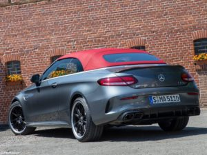 Mercedes C63 S AMG Cabriolet 2019
