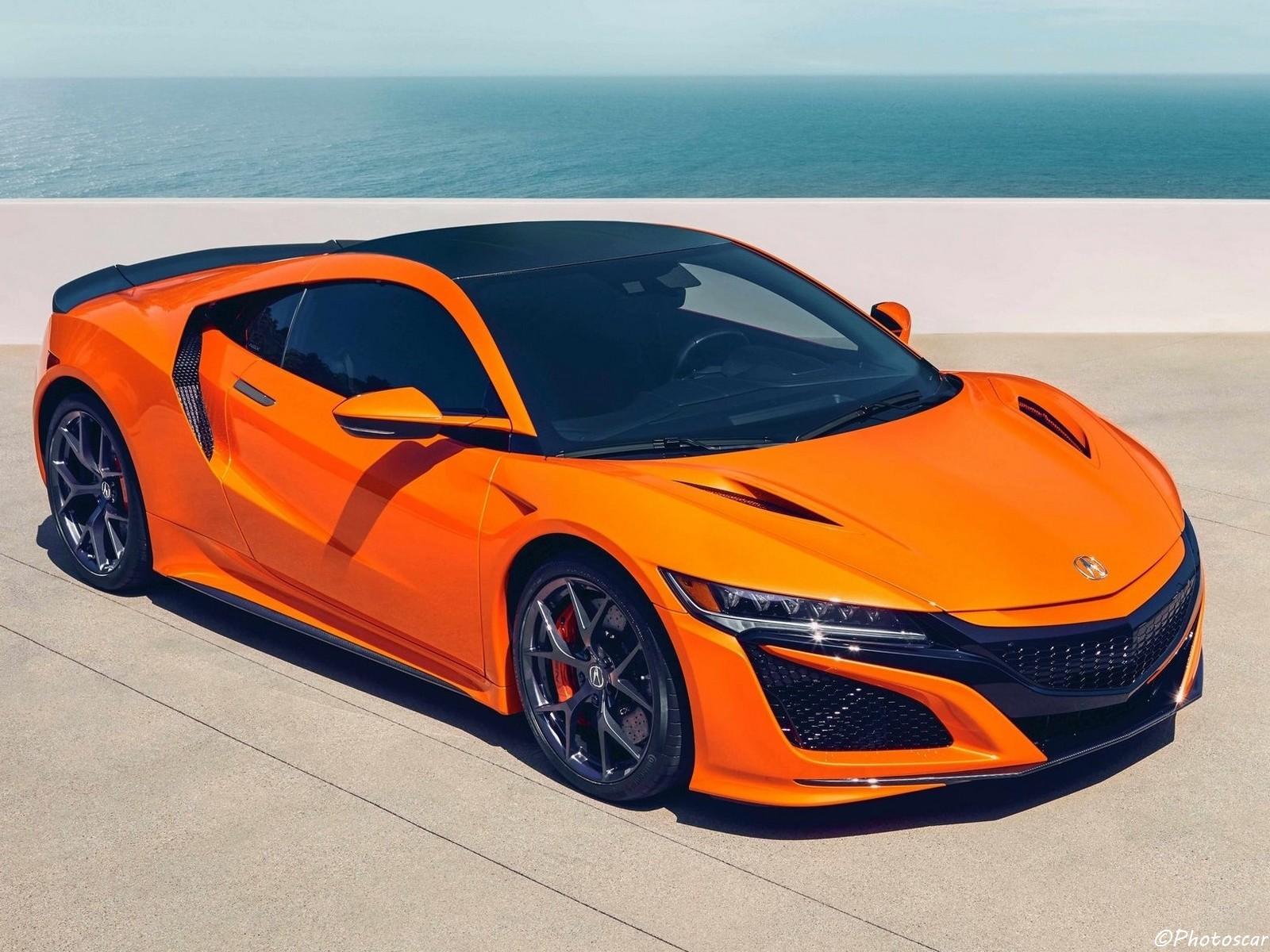 "Acura NSX 2019 devient plus ""ludique"" en orange"