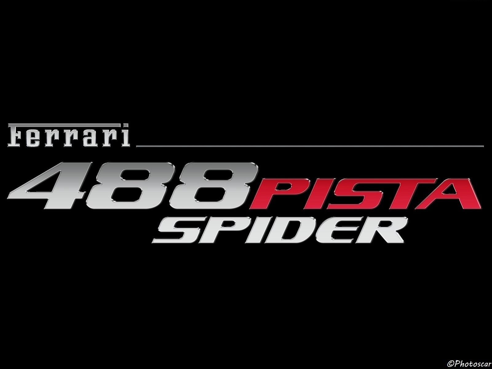 Ferrari 488 Pista Spider 2019