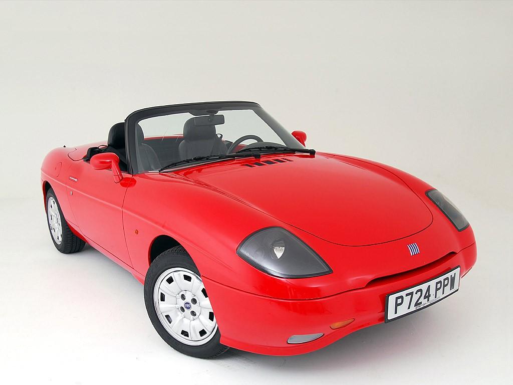 Fiat Barchetta roadster produit de 1995 à 2005: 163 exemplaires Fabriqués