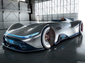Mercedes Vision EQ Silver Arrow Concept 2018