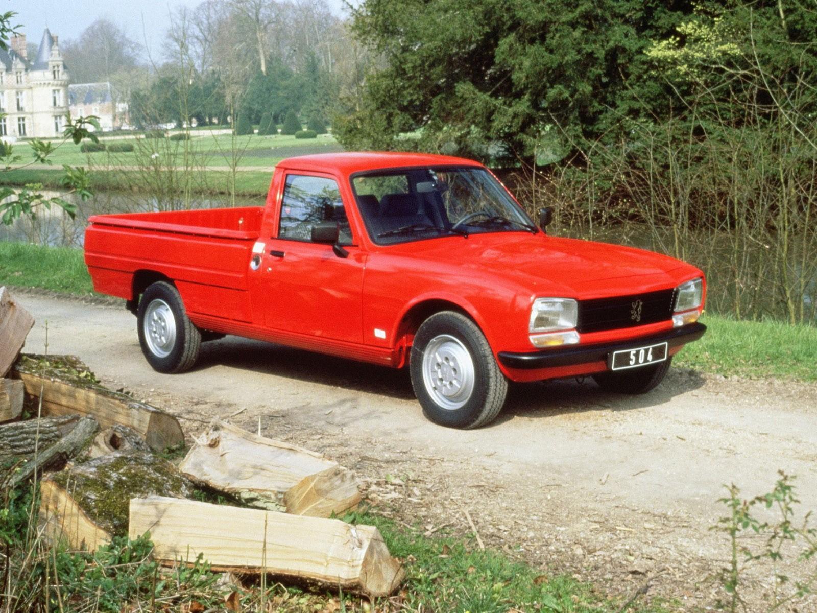 Peugeot 504 Pickup 1972
