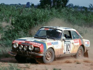 Peugeot 504 V6 Coupe Rally Car 1976