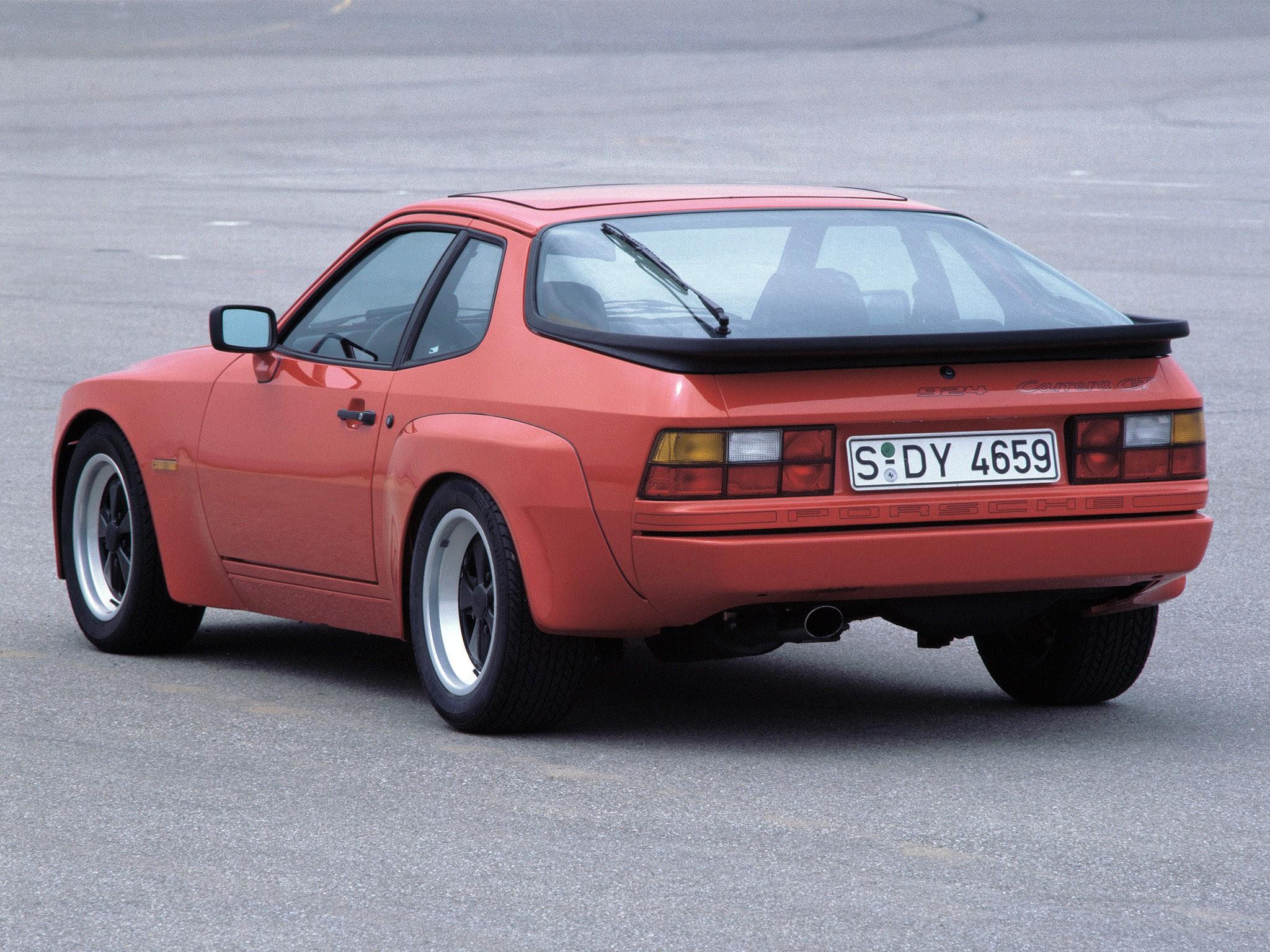 Porsche 924 Carrera GT 937 1981