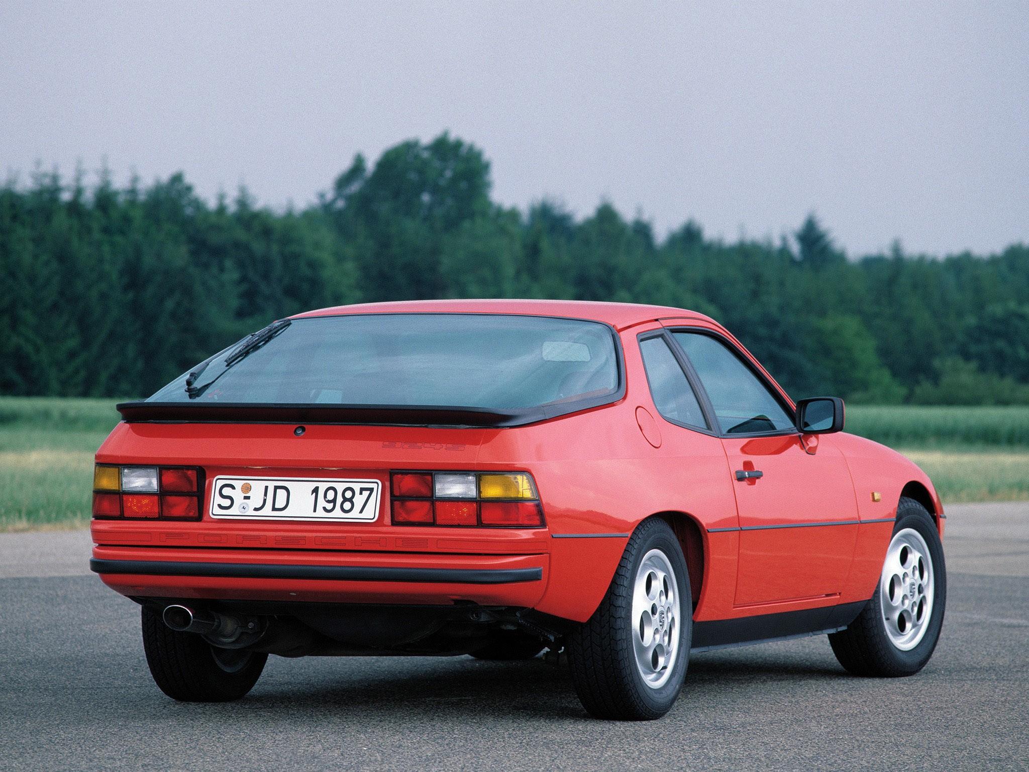 Porsche 924 S Coupe 1986
