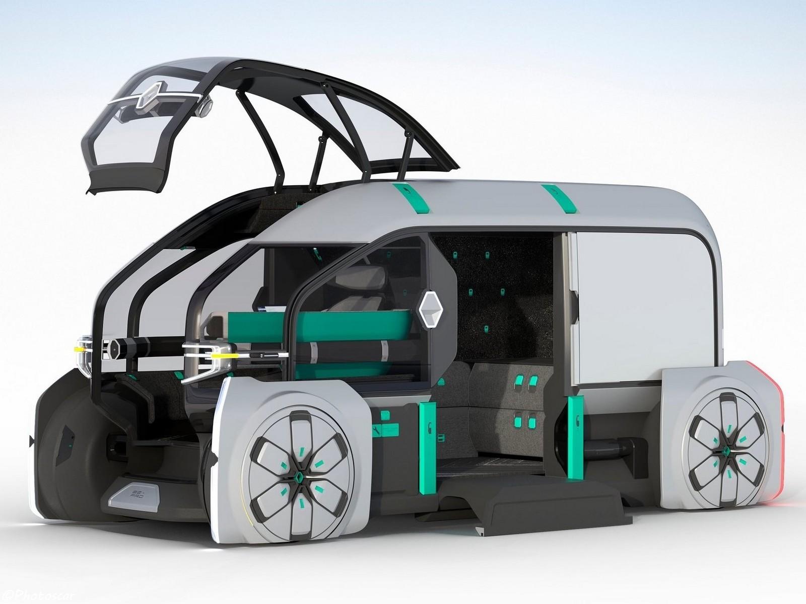 Renault EZ-PRO Concept 2018: Véhicule autonome pour les livraisons