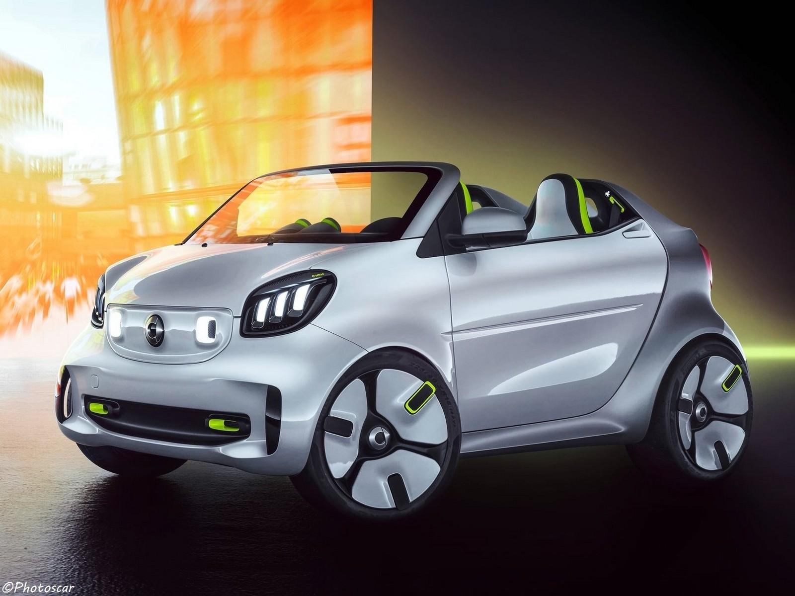 Smart Forease Concept 2018 pour le plaisir électrique en ville