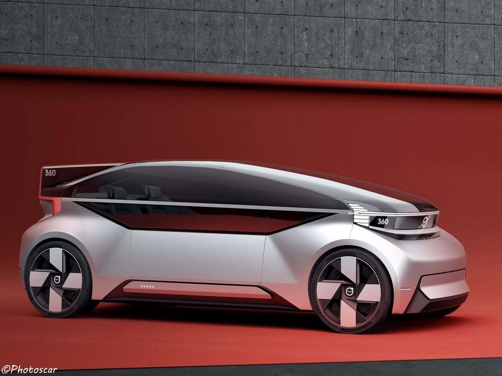 Volvo 360c Concept 2018 est un module électrique autonome
