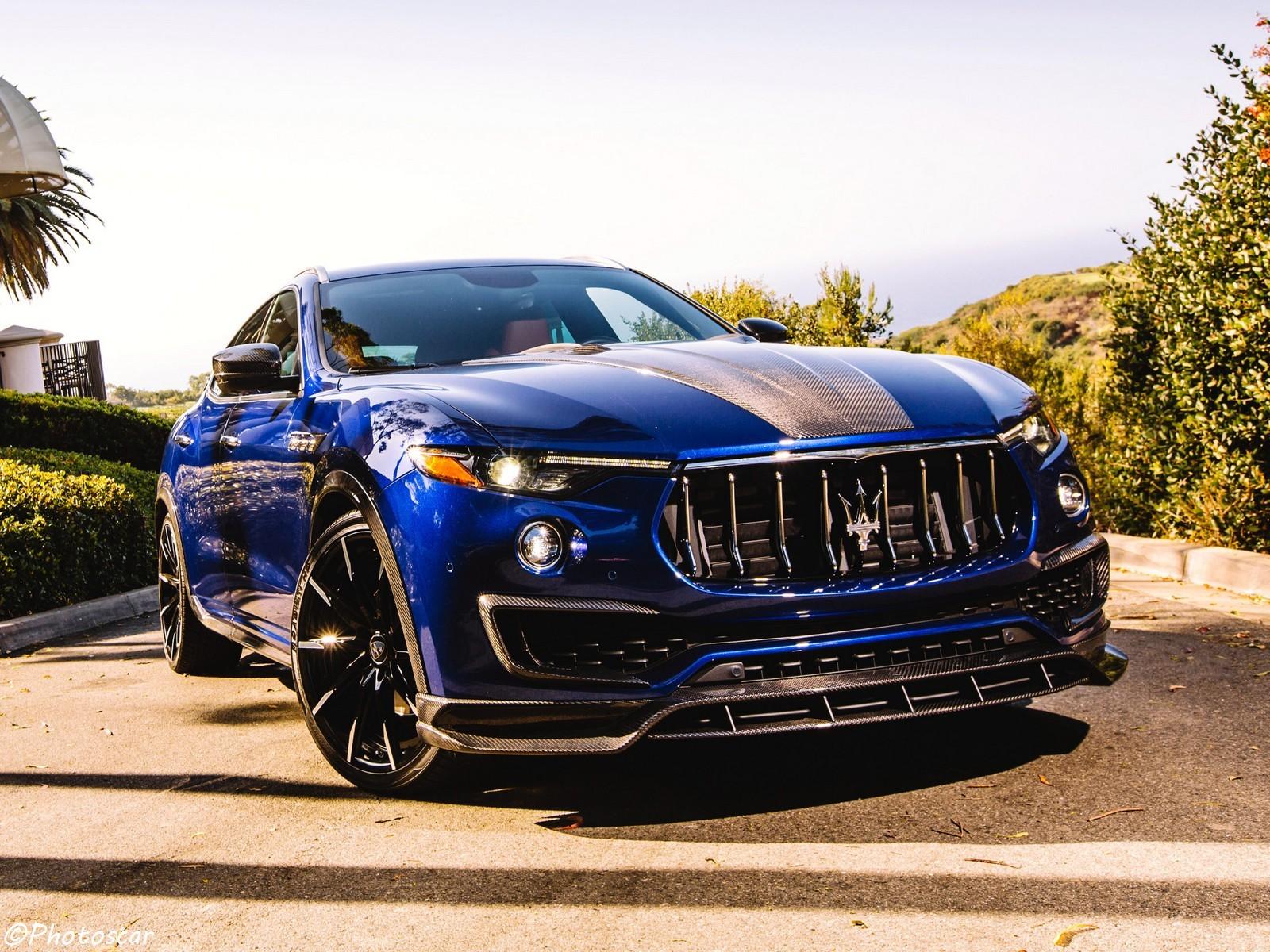 Larte Design Maserati Levante Shtorm USA 2017