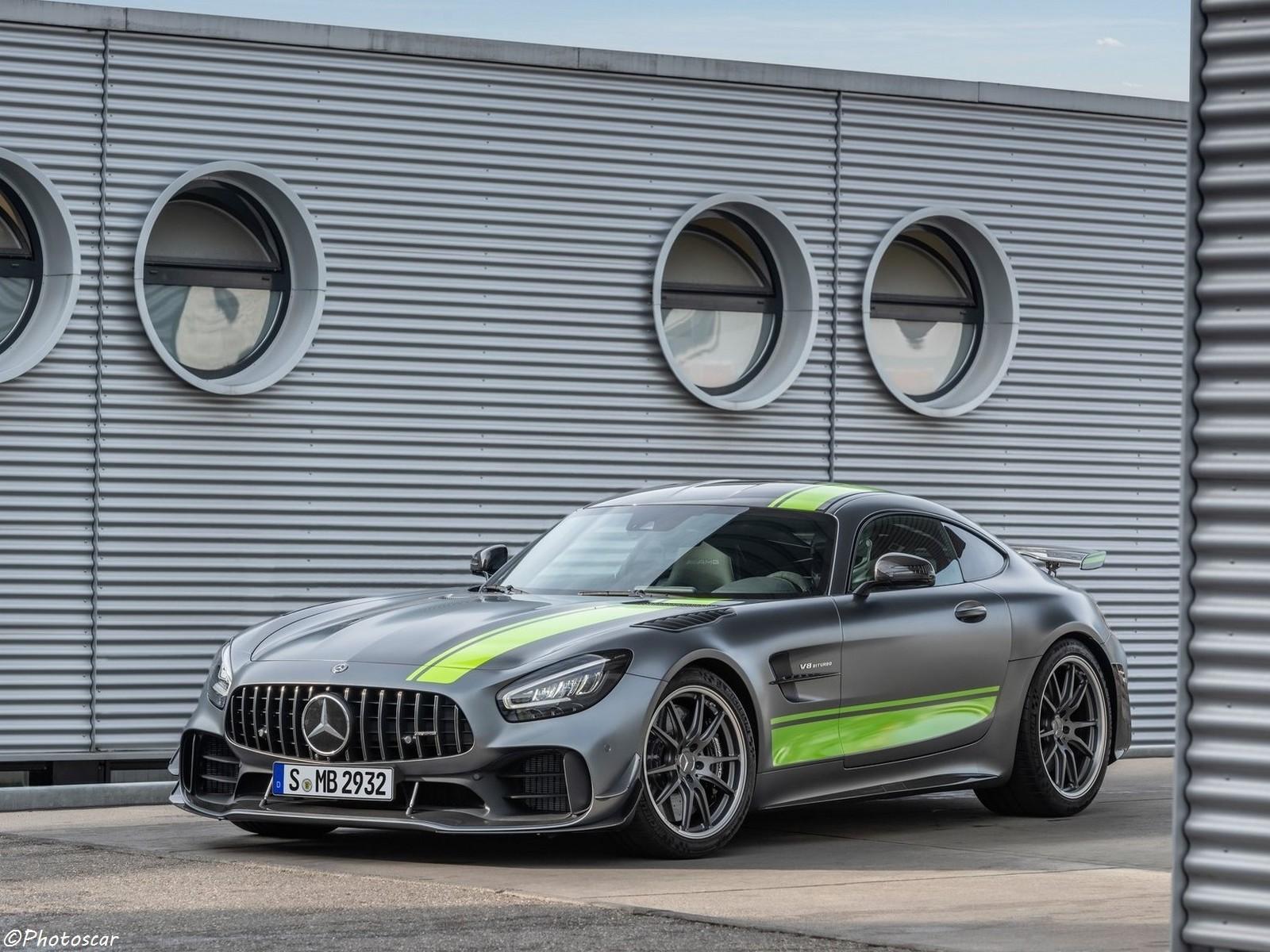 La Mercedes AMG GT R Pro 2020 encore plus extrême à Los Angeles