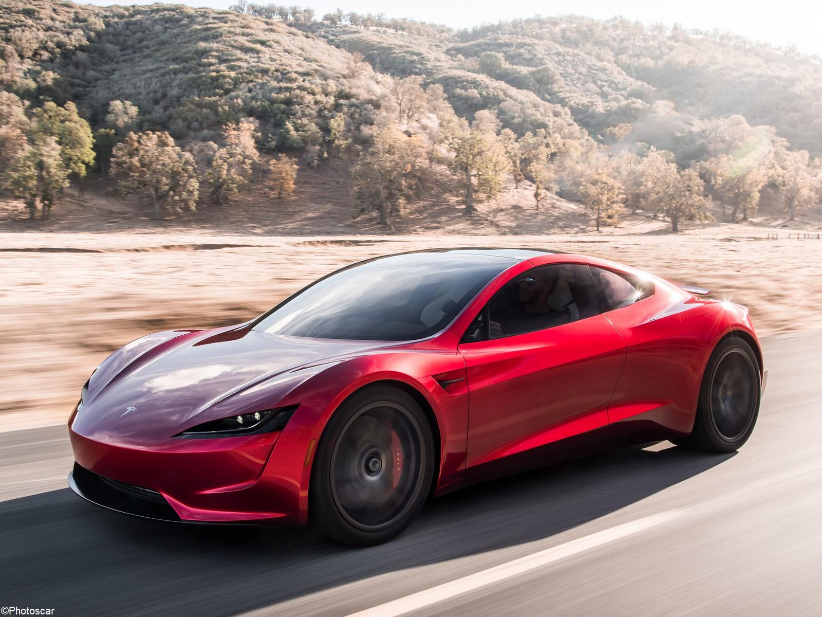 Tesla Roadster 2018 – Le véhicule électrique le plus rapide au monde.