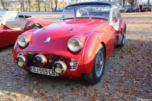 La Triumph TR3 est une simple évolution de la Triumph TR2
