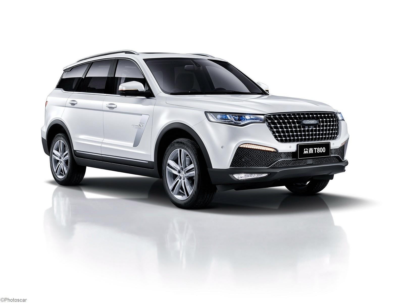 Zotye T800 2018 – VUS qui ressemble beaucoup au Range Rover Sport