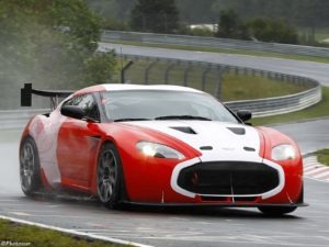 Aston Martin V12 Zagato Race Car 2011