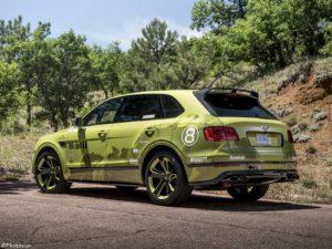 Bentley Bentayga Pikes Peak 2018