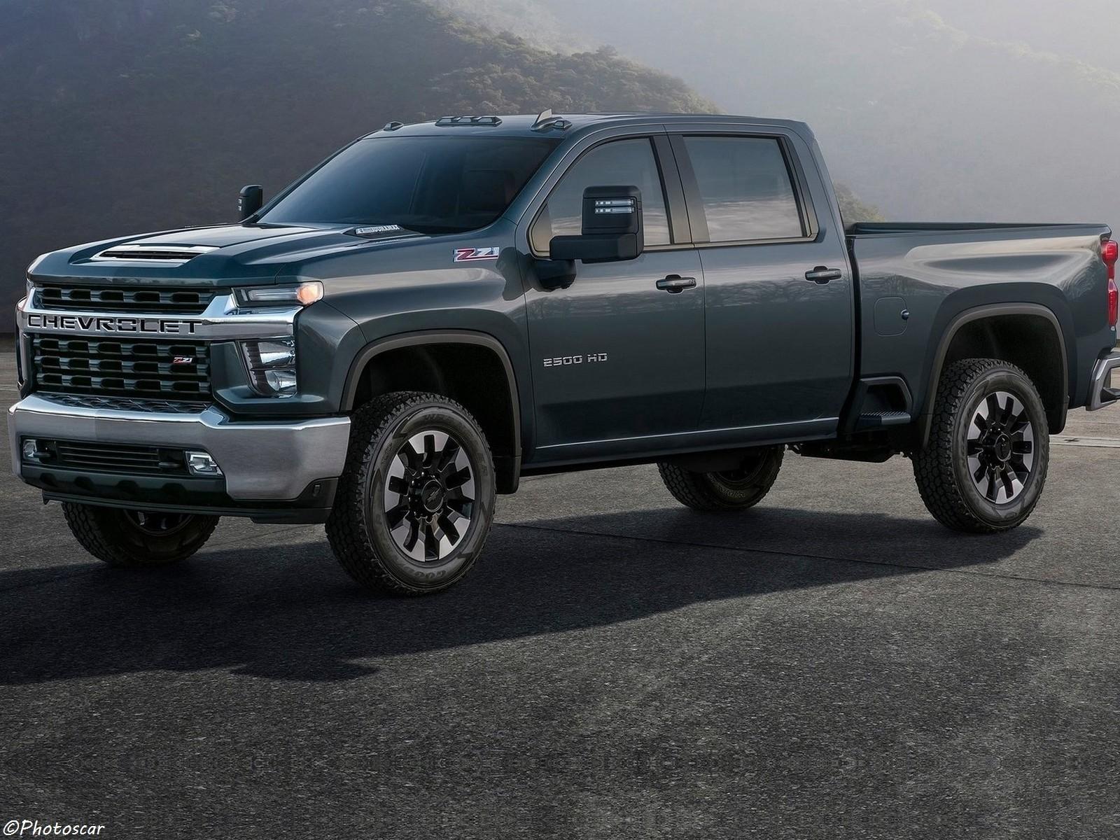 Chevrolet Silverado HD 2020 GM ont revu chaque pièce de sa carrosserie.