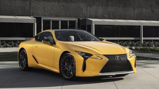 Lexus Lc 500 Inspiration Concept 2018 L Expression Ultime Du Coupe Phare