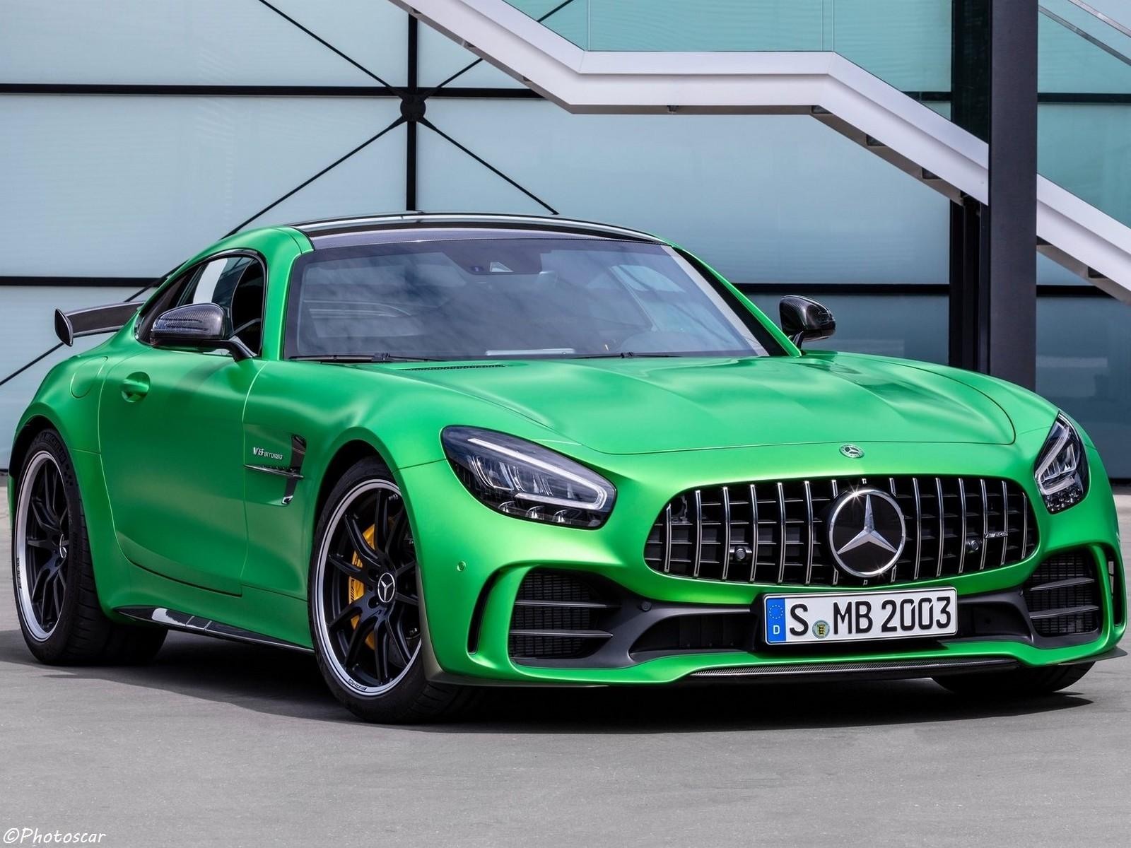 Mercedes AMG GT R 2020 – Voiture de course homologuée pour la route
