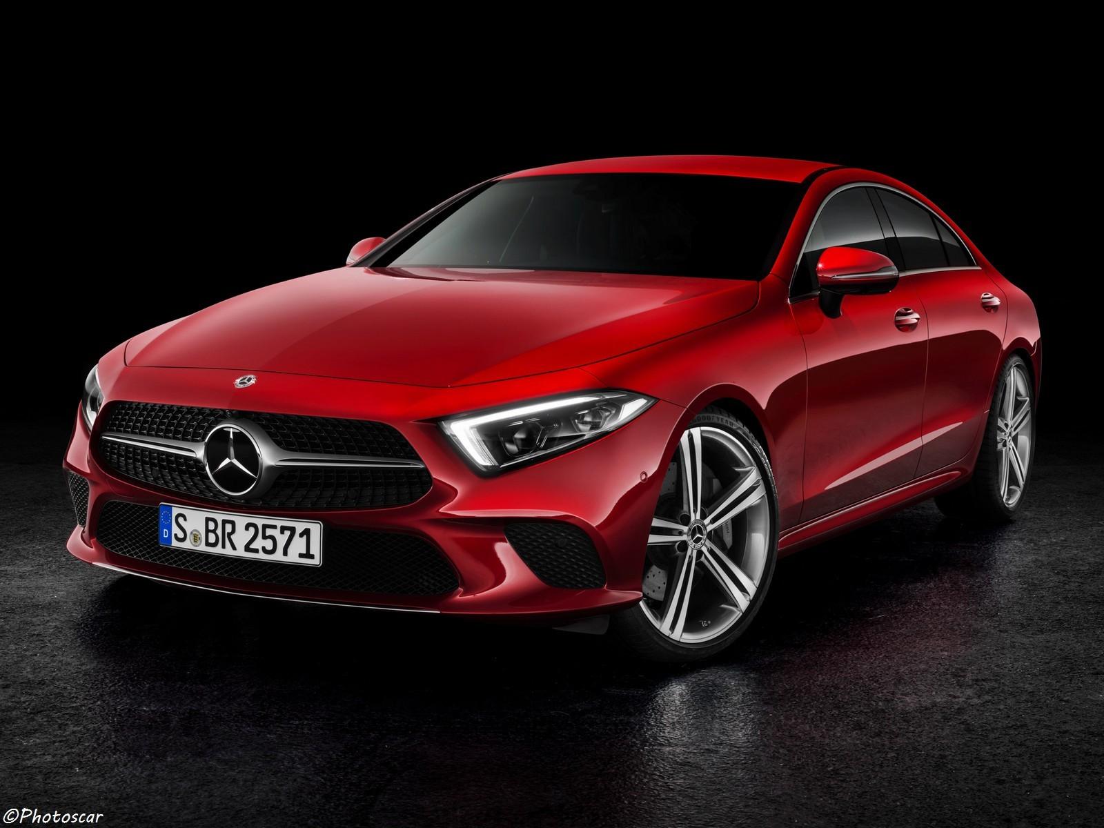 La Mercedes CLS 450 2018 est une berline luxueuse et décontracté