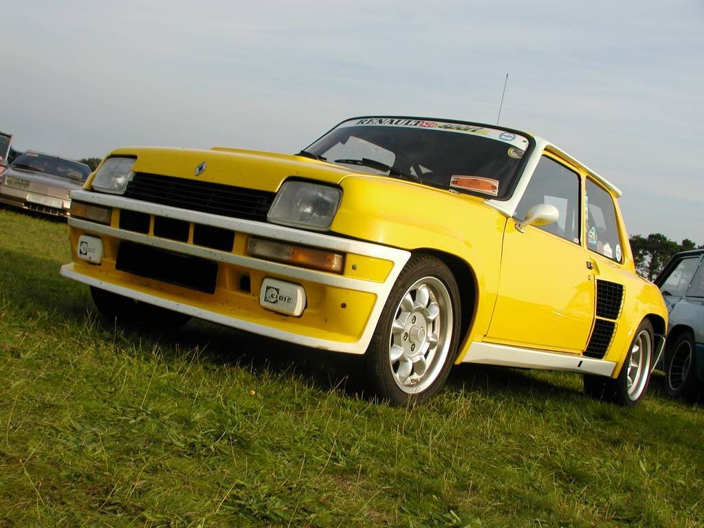 Renault R5 Turbo 1980
