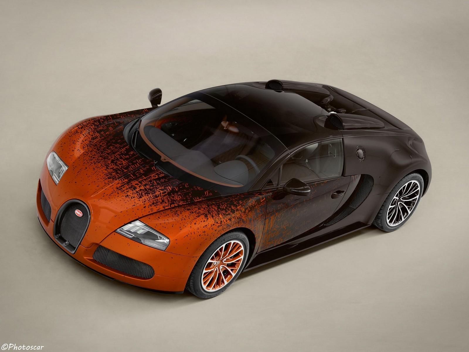Bugatti Veyron Grand Sport Venet 2012 – Une vraie œuvre d'art