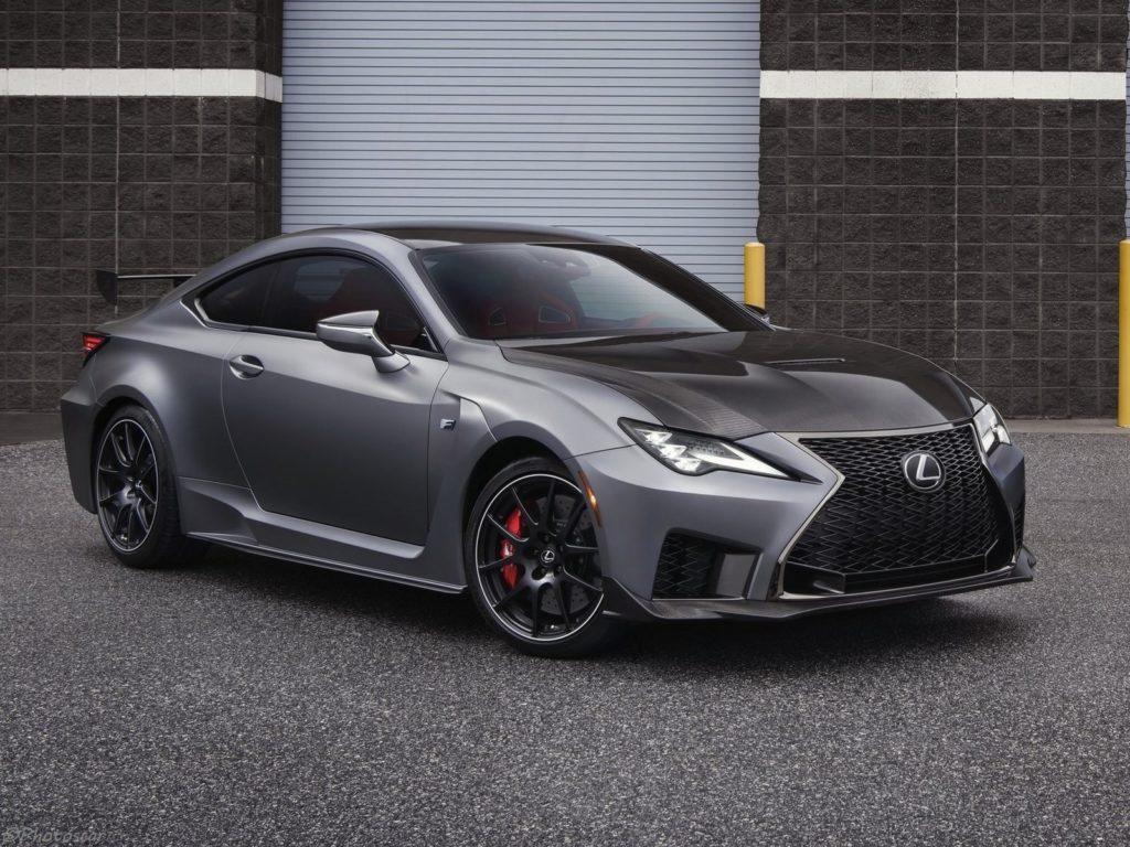 Lexus RC F Track Edition 2020 fait ses début au Salon de ...