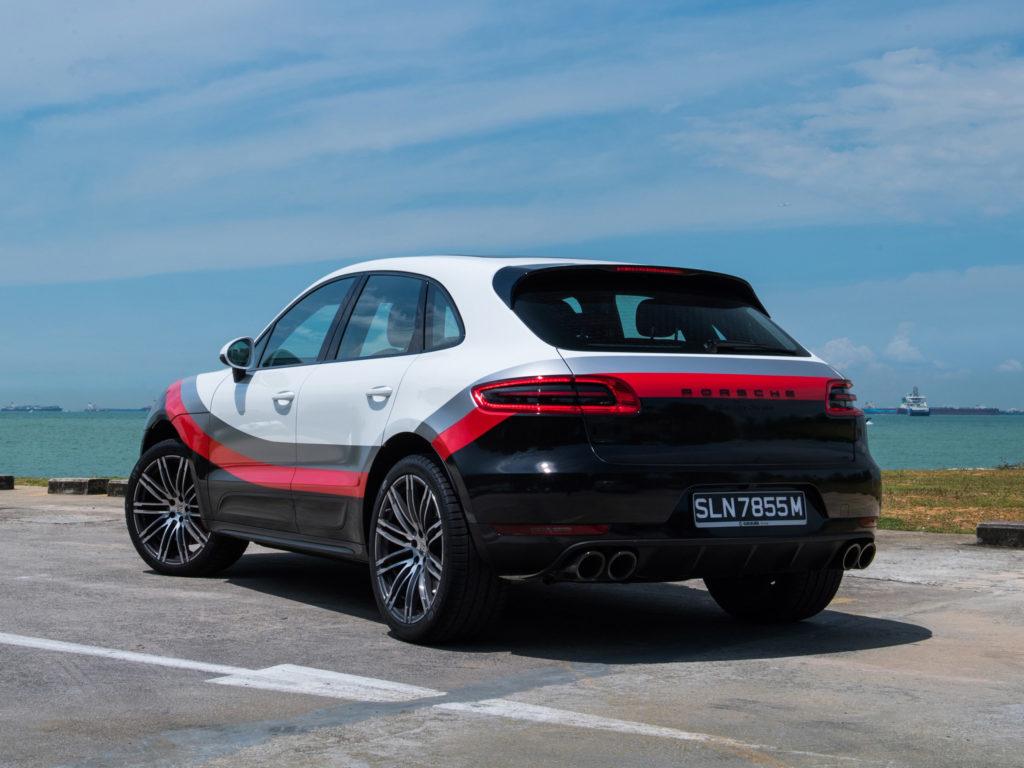 Porsche Macan Turbo Performance Package 95B 2017