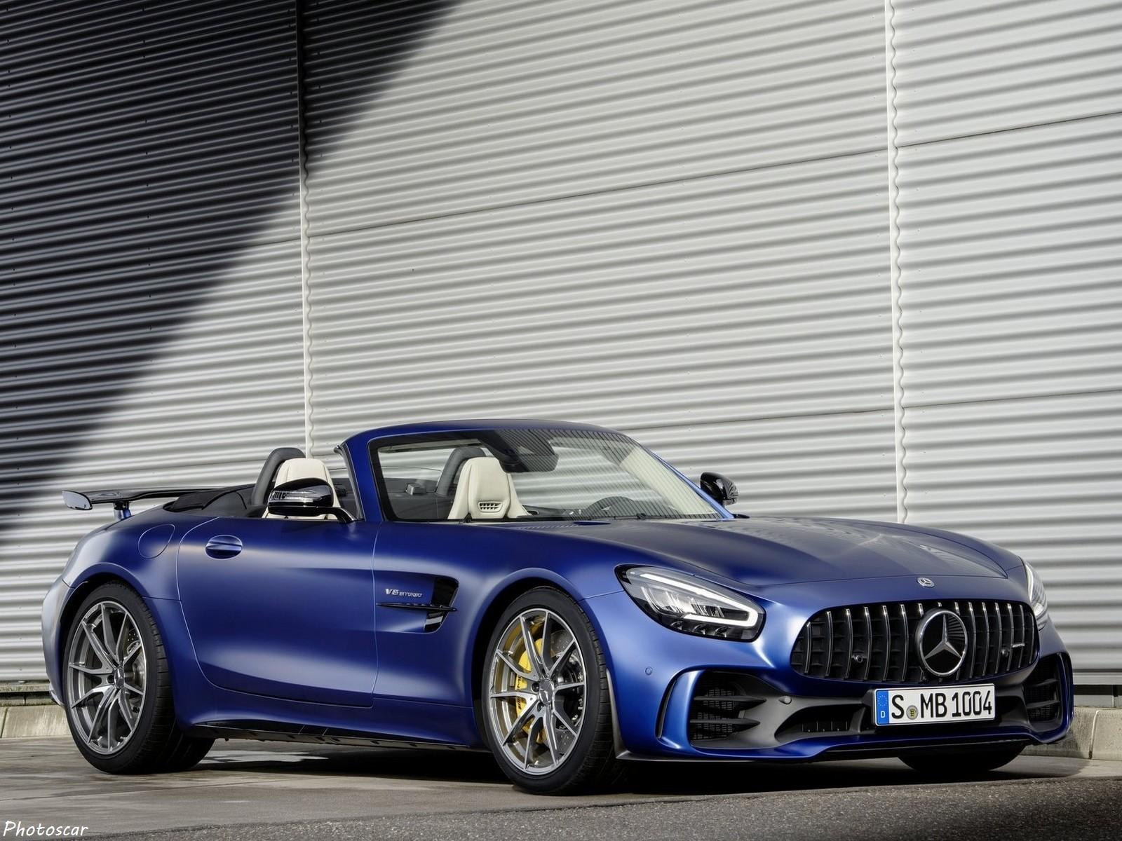Mercedes AMG GT-R Roadster 2020 – Limité à 750 unités dans le monde.