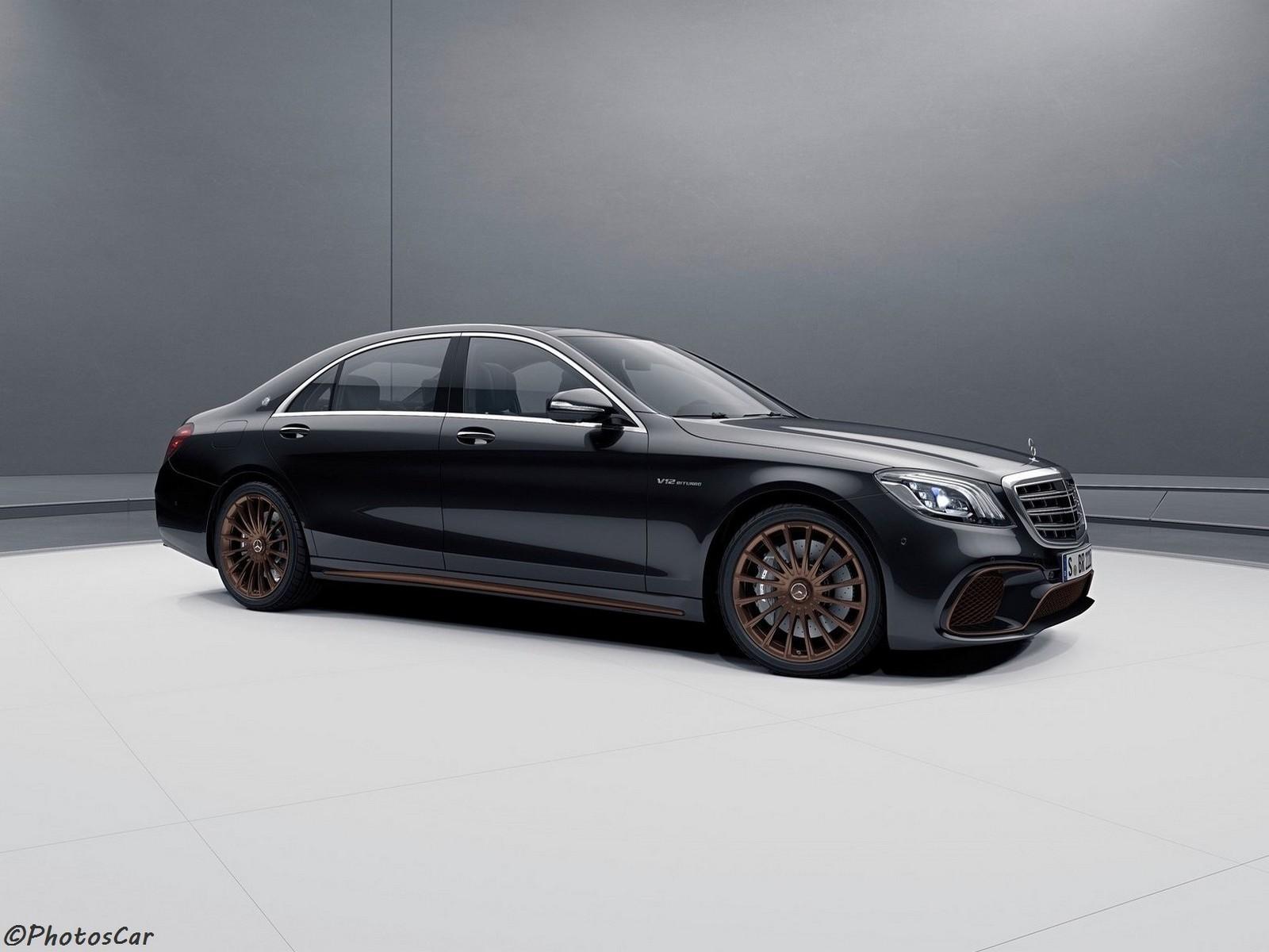 Mercedes AMG S65 Final Edition 2019 – Le dernier moteur V12 de 6,0 L.