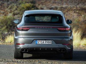 Porsche Cayenne Turbo Coupe 2020