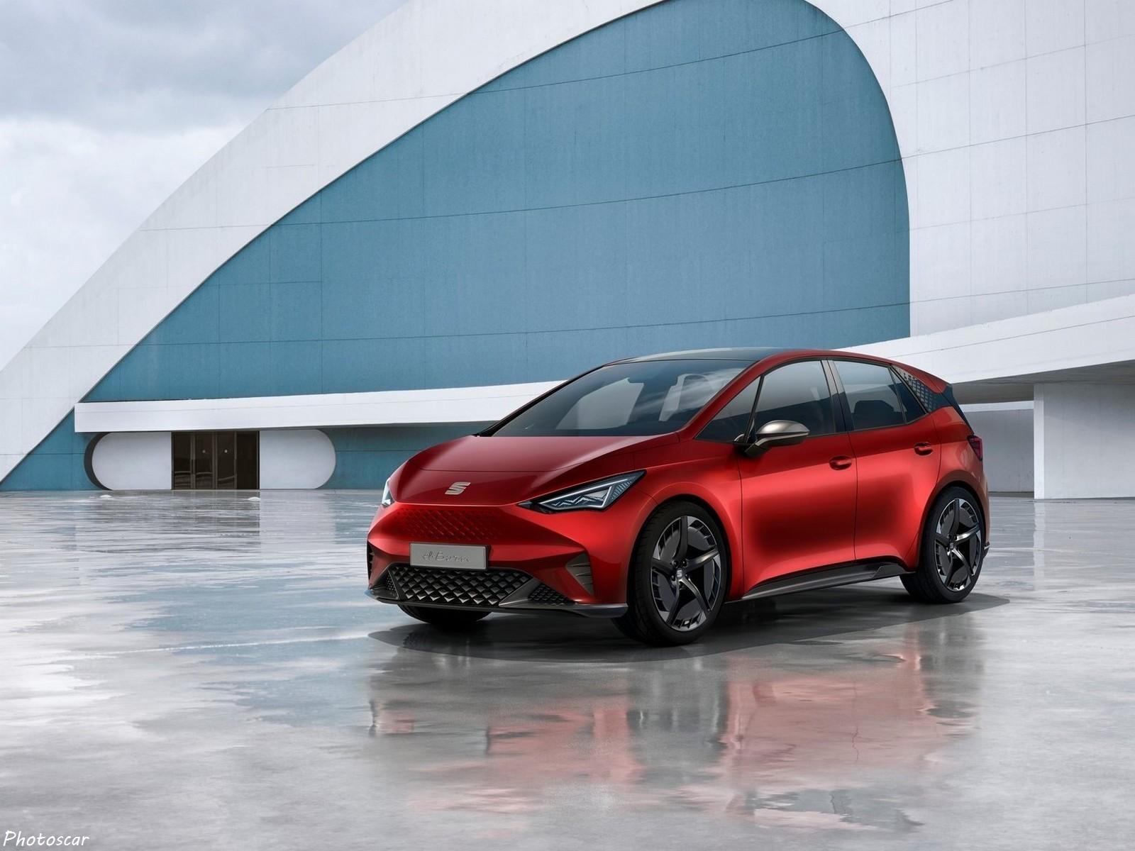 Seat el-Born Concept 2019:  100% électrique développé à Barcelone.
