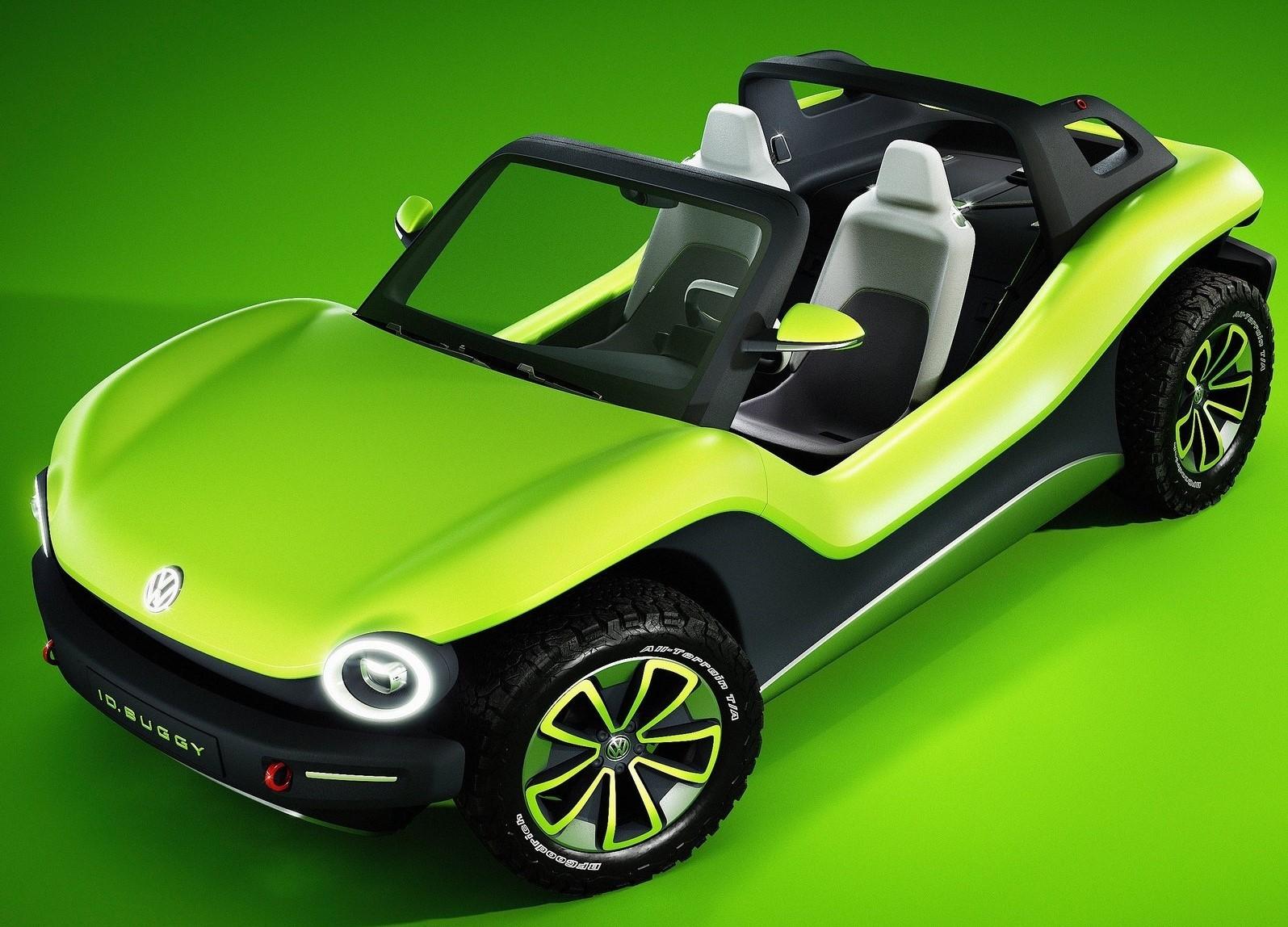 Volkswagen ID Buggy Concept 2019 – Nouveau Buggy électrique.