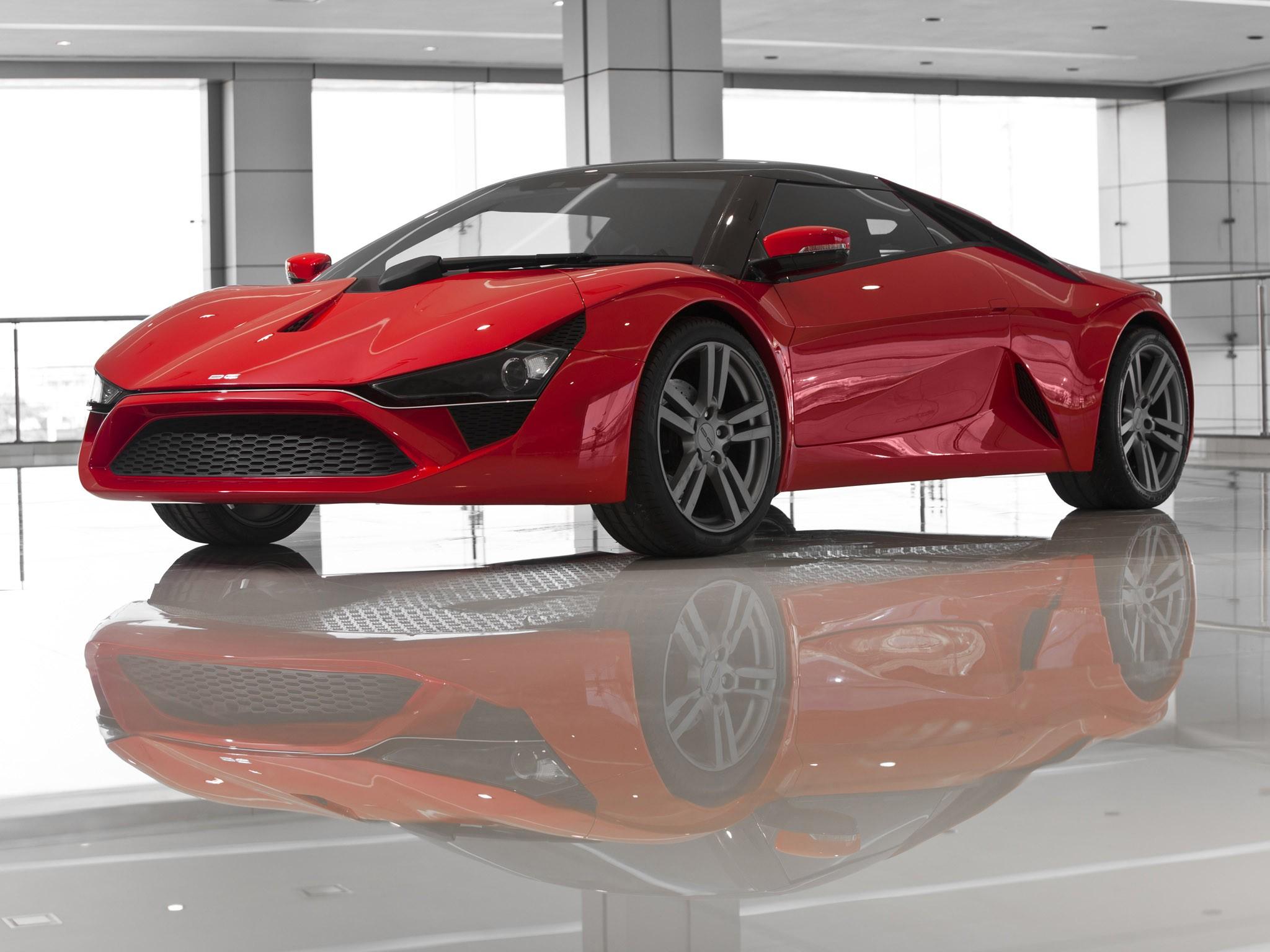 DC Design Avanti 2012 – La première voiture de sport indienne.