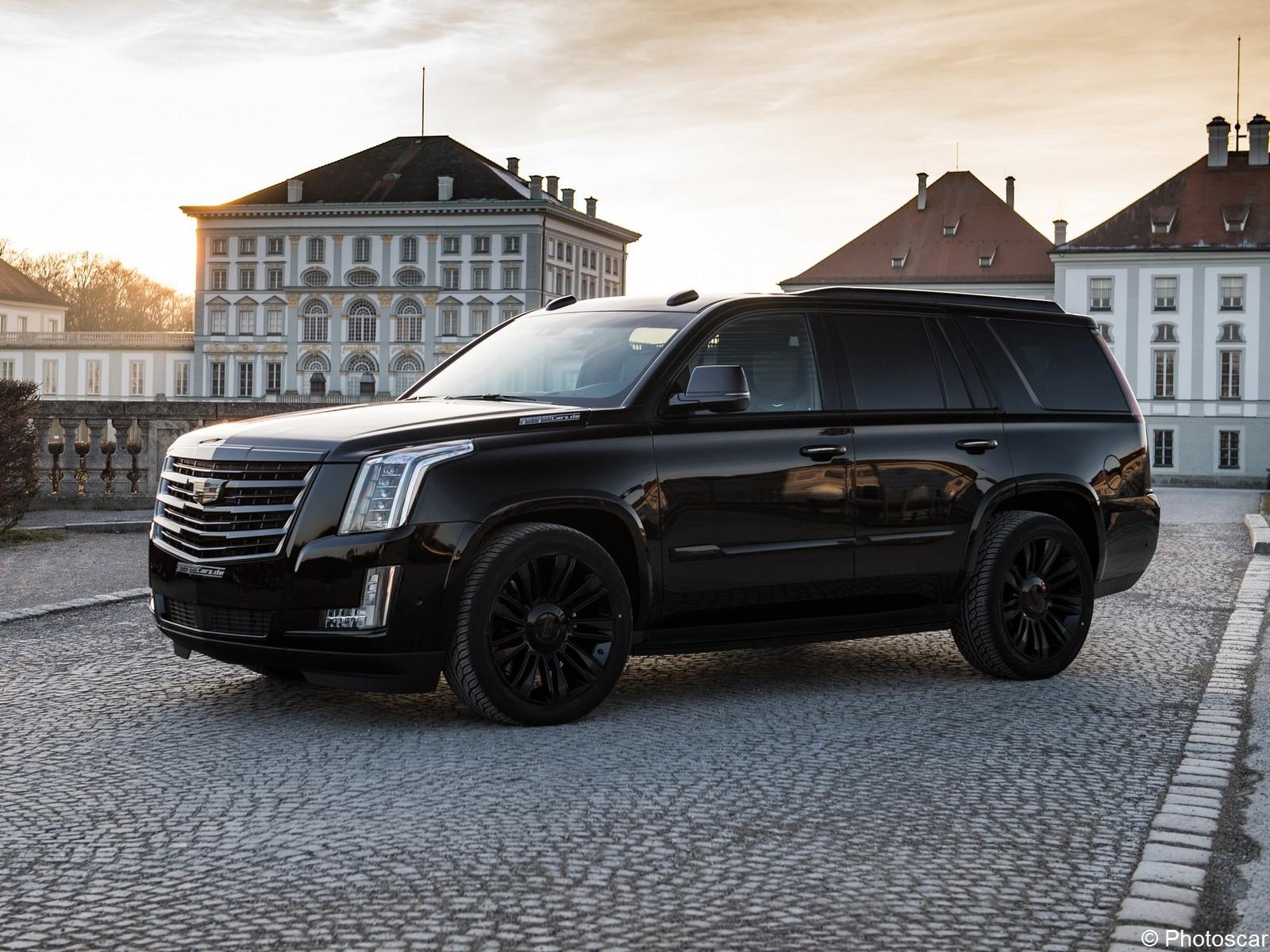 Geiger Cadillac Escalade Black Edition 2018 – Un monstre de 448 CV.