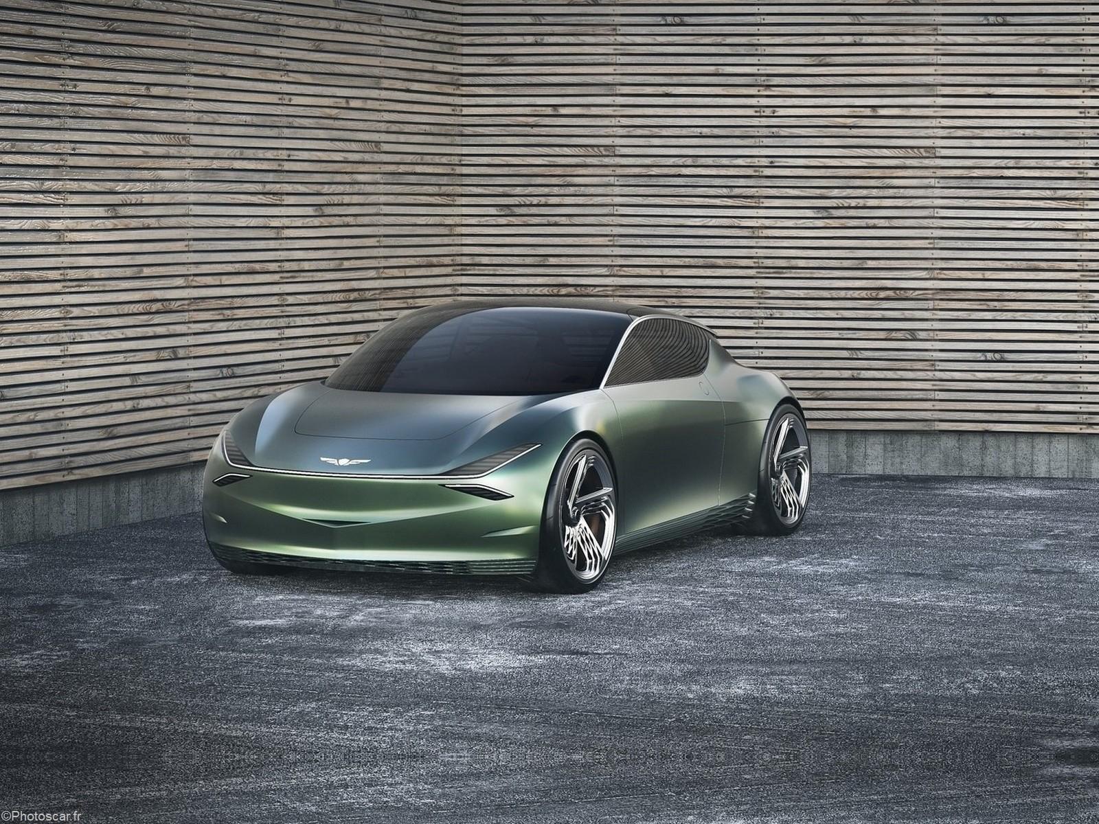 Genesis Mint Concept 2019 – Petit véhicule électrique à deux portes.