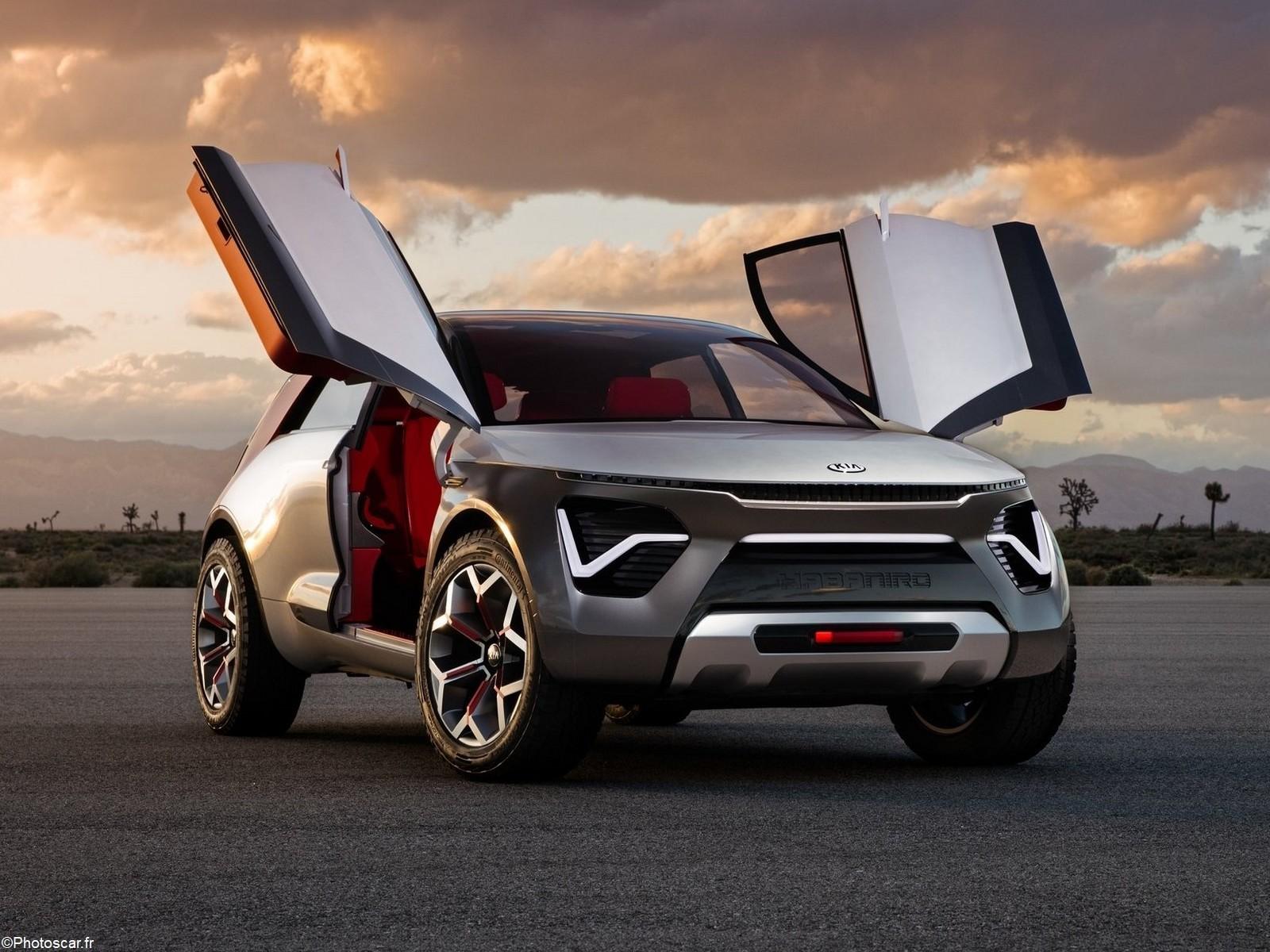 Kia HabaNiro Concept 2019 – Design futuriste Suv électrique et autonome.
