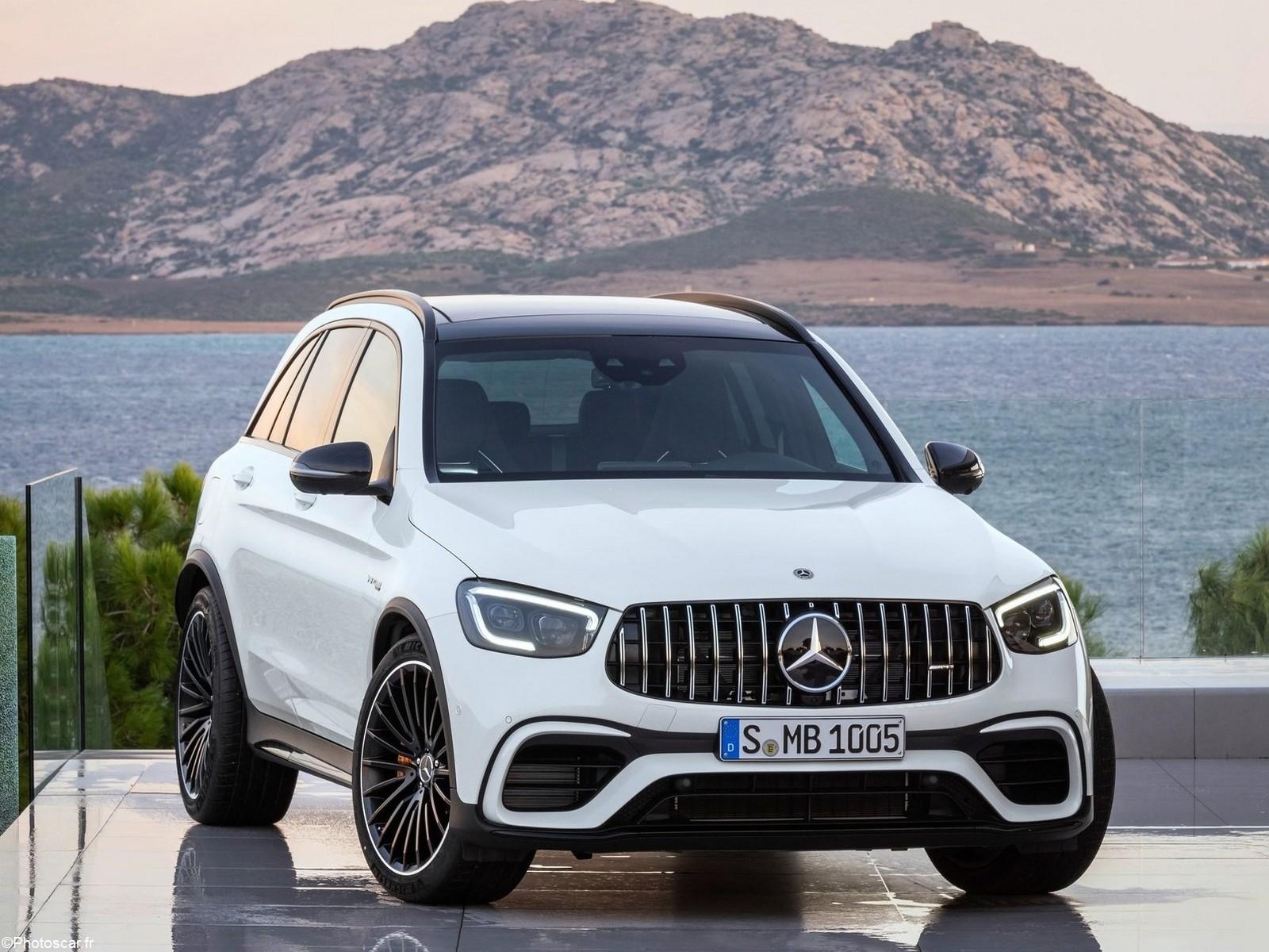 Mercedes AMG GLC 63 S 2020: Un SUV alliant sport et dynamisme.
