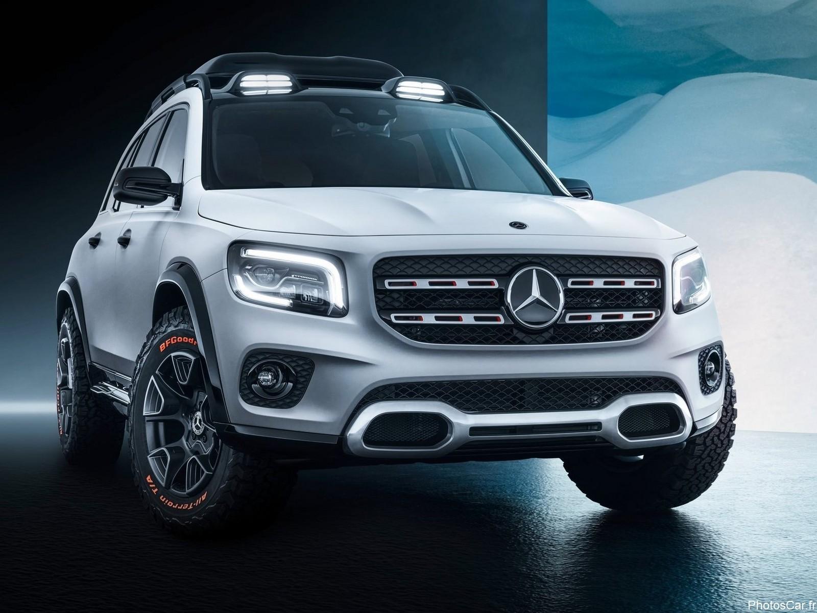 Mercedes GLB Concept 2019