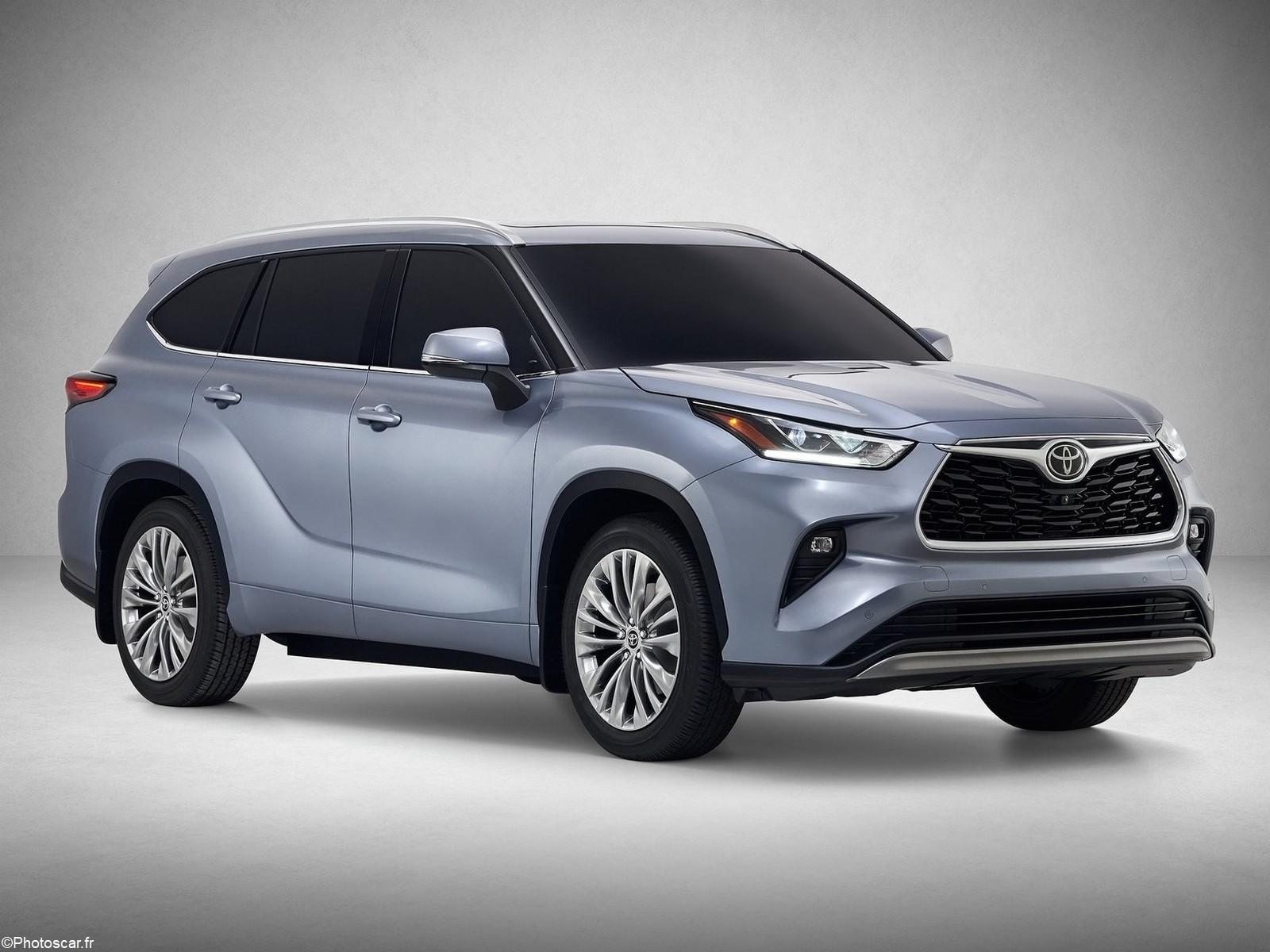 Toyota Highlander 2020 – Un look plus droit et plus robuste qu'auparavant.