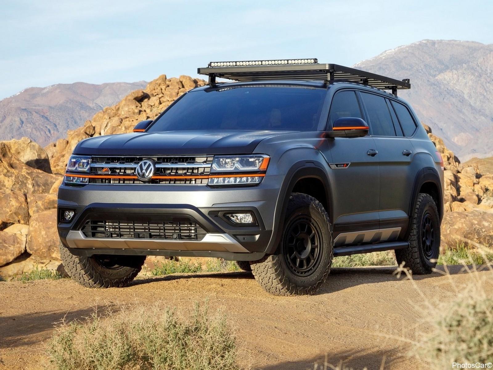 Volkswagen Atlas Basecamp Concept 2019 – Construit pour les vététistes.