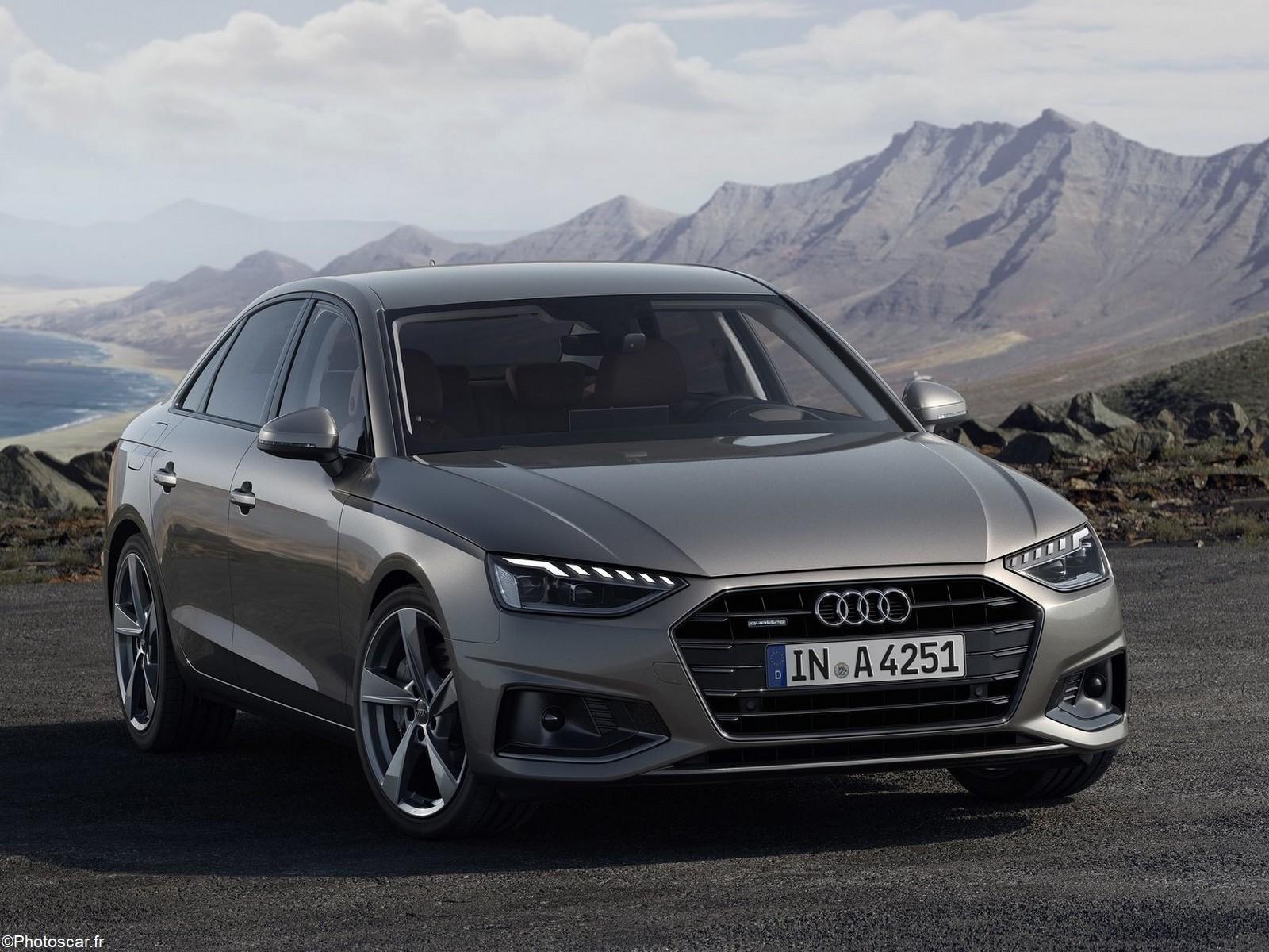 Audi A4 2020 – Une élégance dynamique et une allure distinguée.
