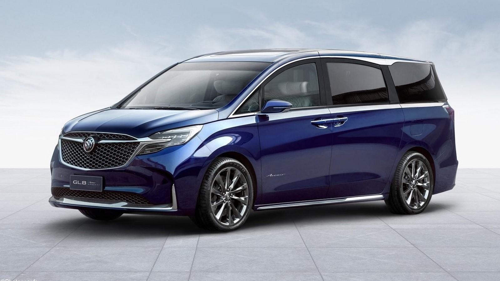 Buick GL8 Avenir Concept 2019: Un nouveau look pour les monospaces.