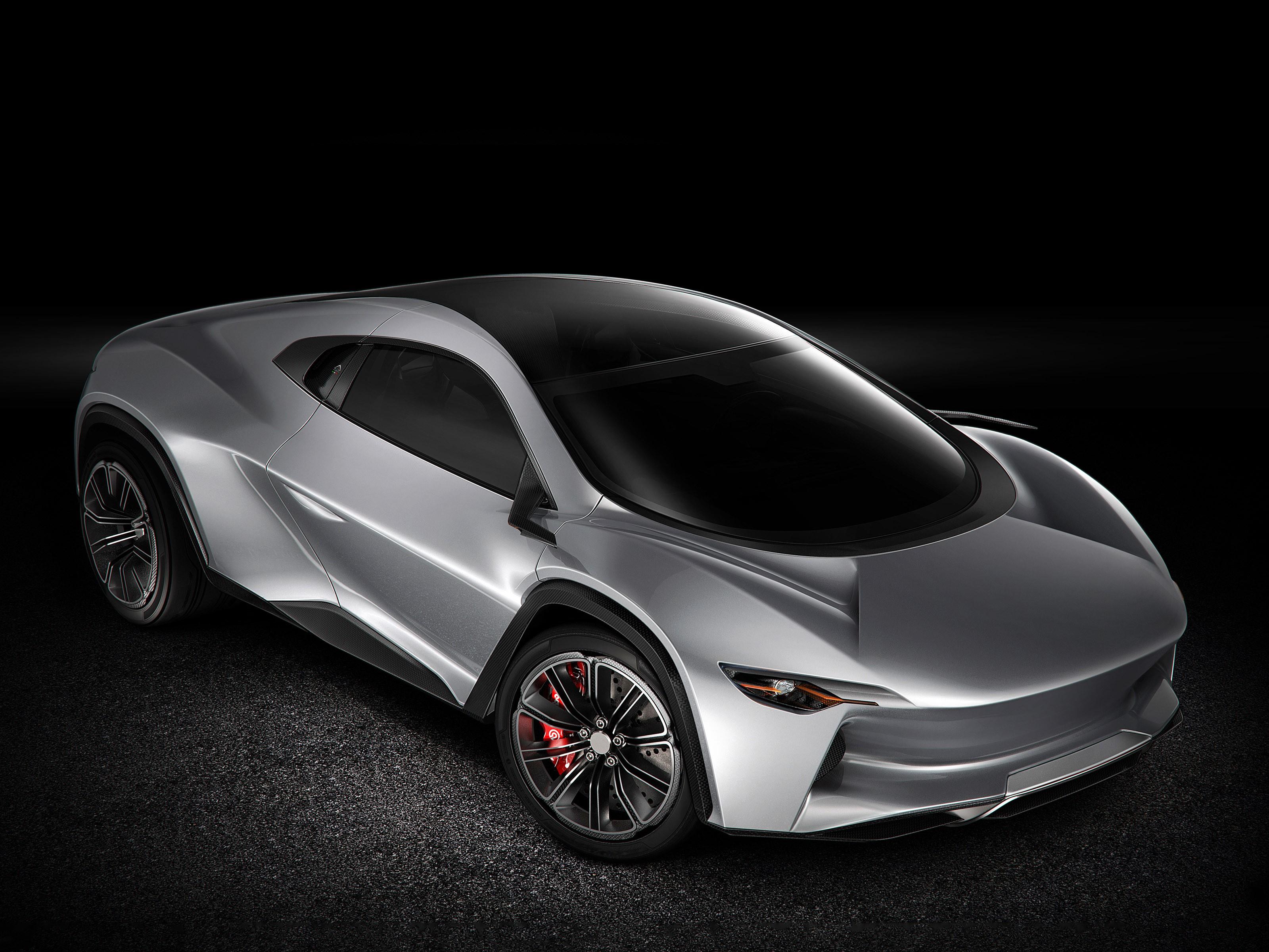 Camal Ramusa 2015 – Le nouvel hypersuv est un concept-car biplace